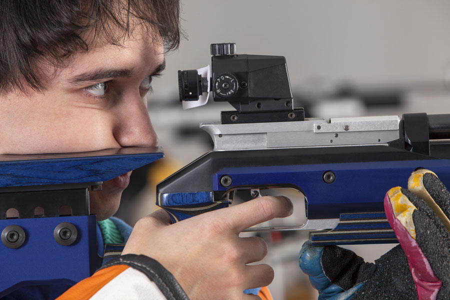 Competitive shooting sports